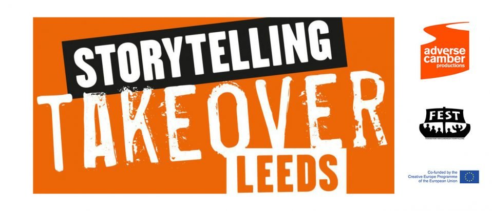 Storytelling Take over Leeds